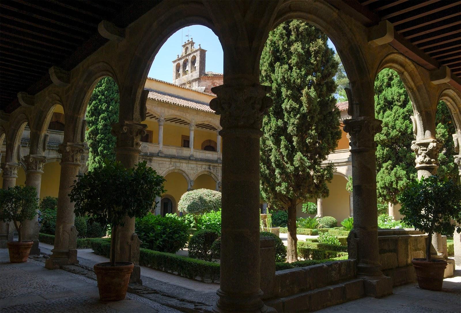 monasterio yuste carlos V cuacos caceres extremadura