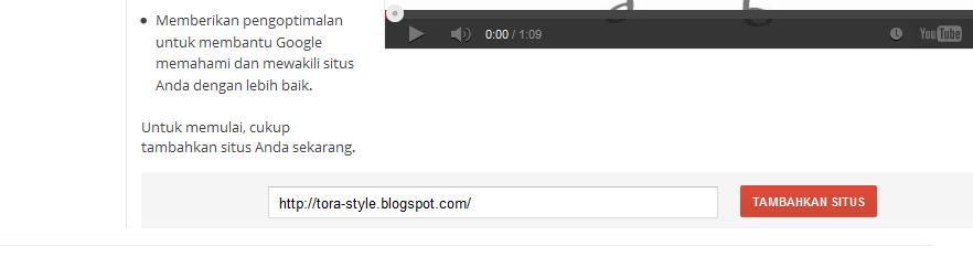 Cara Verifikasi Blog Di Google Webmasters Tools