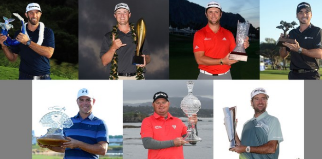 PGA Tour,   2017, 2018, season, winners, Tournament, Schedule, champions, Money Leaders