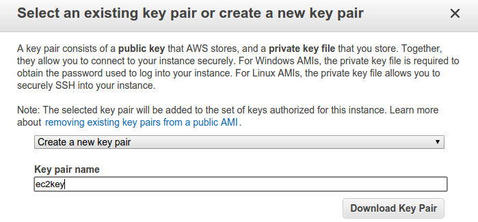 Mash That Key: Acquiring an Image of an Amazon EC2 Linux