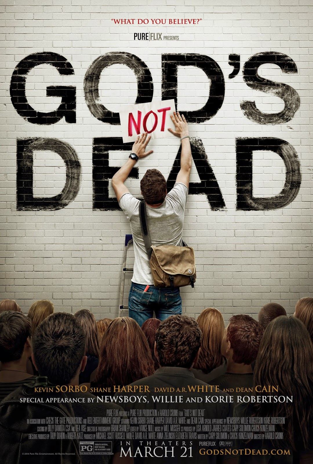 'God's Not Dead': The Only Christian Film In Theaters Worth Seeing