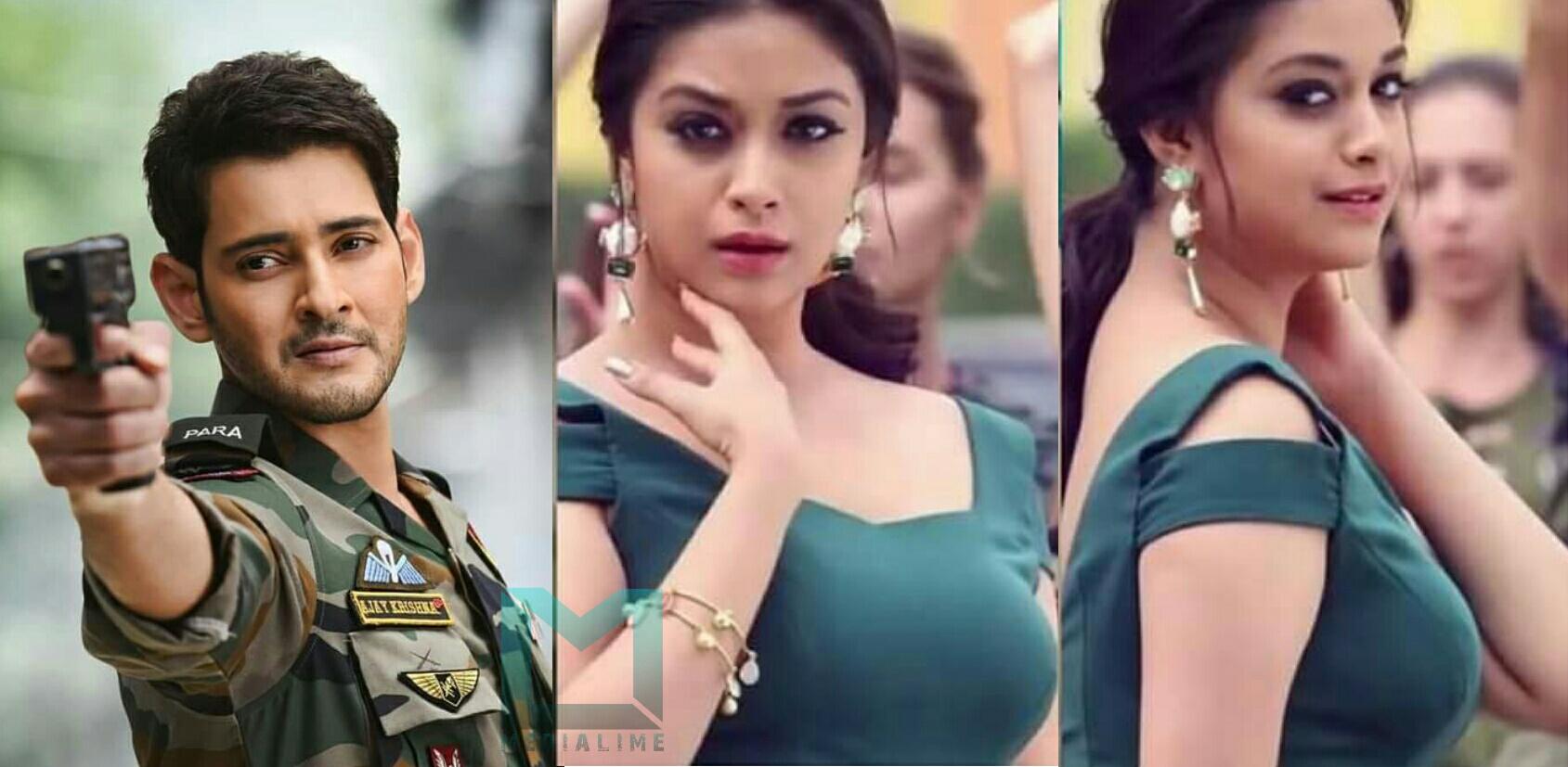 Mahesh Babu and Keerthi suresh