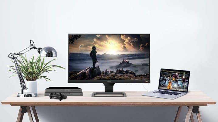 BenQ EW2780: monitor de FHD IPS de 27 pulgadas, con tecnología HDRi, altavoces integrados y modo de libro electrónico