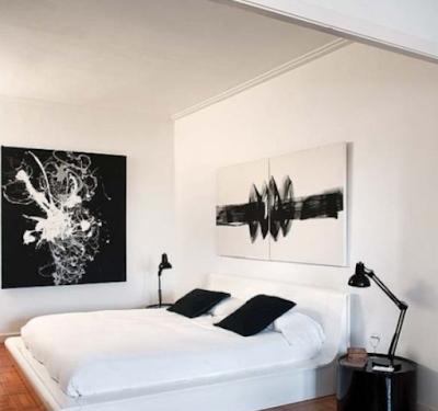 5 desain kamar tidur hitam putih elegan - dekorasi rumah