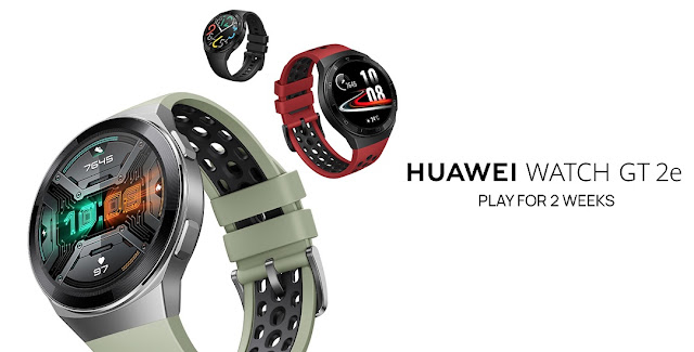 Huawei Watch FT2e (Smartwatch) launched in India with AMOLED display, 14 days battery, water resistant & More