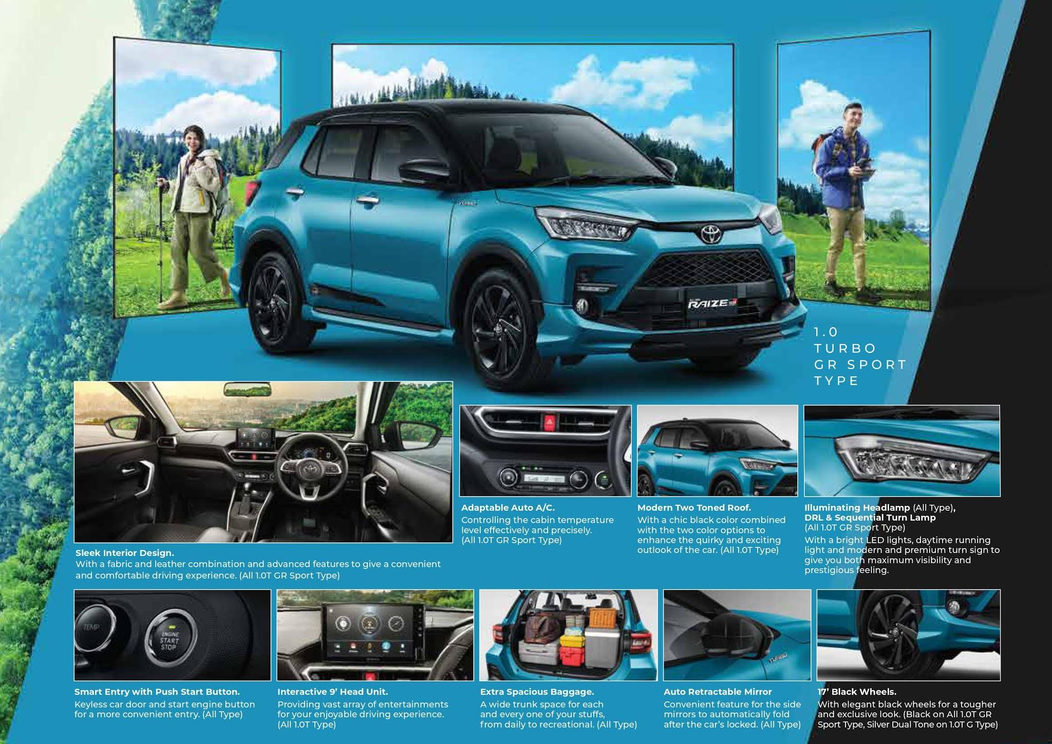 Toyota Raiza Bali