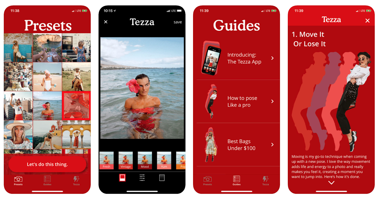 After Months And Of Coding We Have Finalized The Tezza App It Is Available In Store You Can Now Add My Presets To Your Photos On