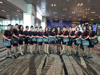 Siswi pramugari PSPP Lampung sekolah pramugari terbaik