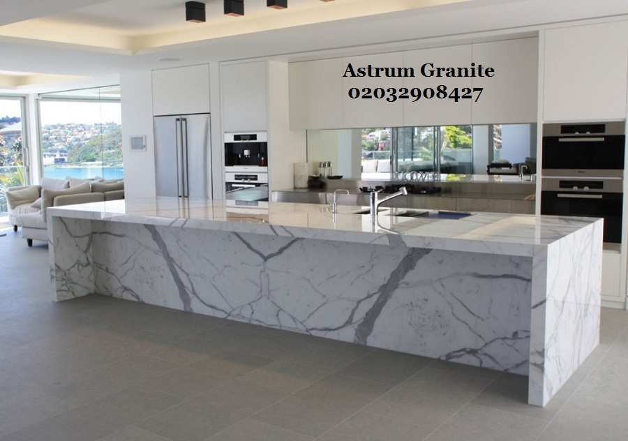 Best Statuarietto Marble Kitchen Worktop In London Uk Call Us 0203 290 8427