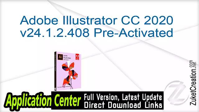 Adobe Illustrator CC 2020 v24.1.2.408 Pre-Activated
