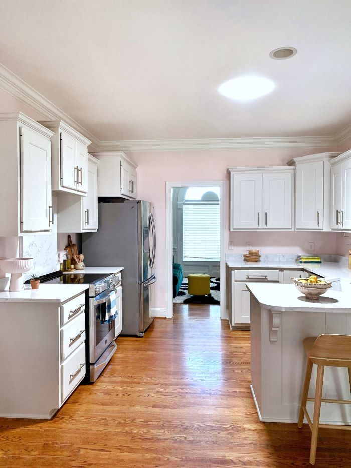 From Dark and Dreary To Bright and Cheery-Our Kitchen Reveal