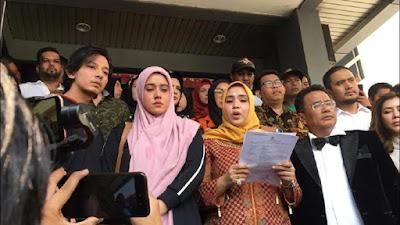 Fairuz Resmi Polisikan Mantan Suami dan Youtuber Rei Utami-Benua