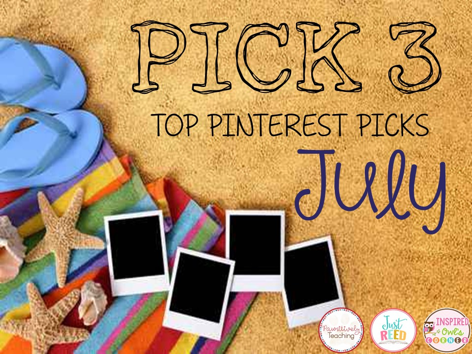 Check It Out!  July Pinterest Finds
