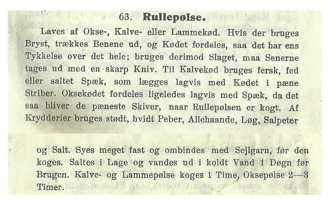 Rullepølse recipe