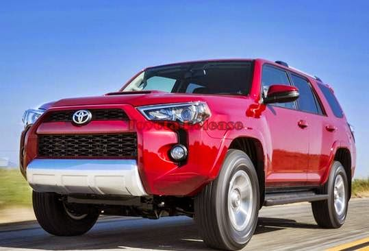 2016 Toyota 4Runner Diesel Space