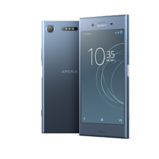Source: Sony Mobile Communications. The XZ1 in Moonlit Blue.