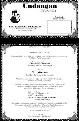 undangan akad