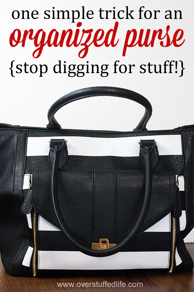 purse organization tips | use pouches to organize your handbag or purse | how to organize inside purse | organizing bag | ideas to have a more organized purse or handbag