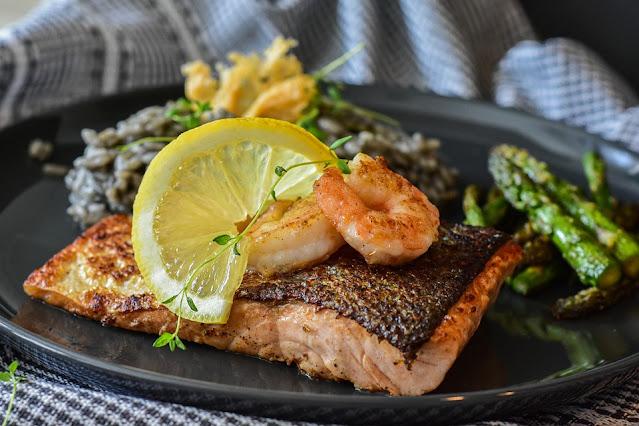 Simple fish dinner