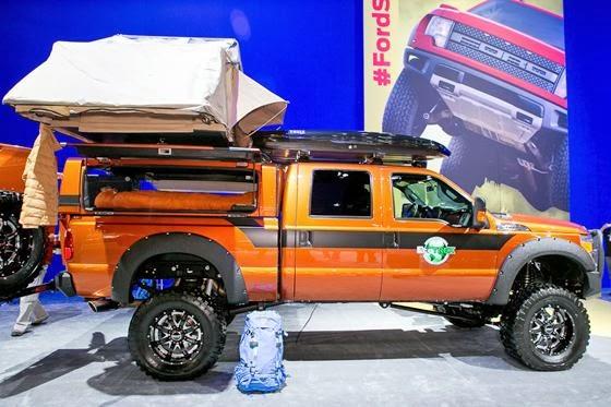 Northside Ford Truck Sales 2013 Sema Show Ecotrek F 350