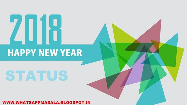 Happy New Year Status In Hindi For 2018
