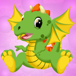 Play Games4King Beauteous Dragon Escape
