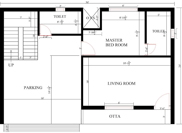 Two-story house plan