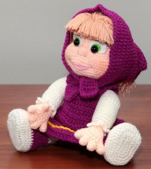 Crochet Masha Amigurumi - Tutorial