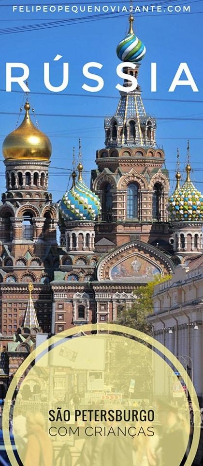 São Petersburgo com crianças - como começou a nossa aventura pela Ferrovia Transiberiana na Rússia