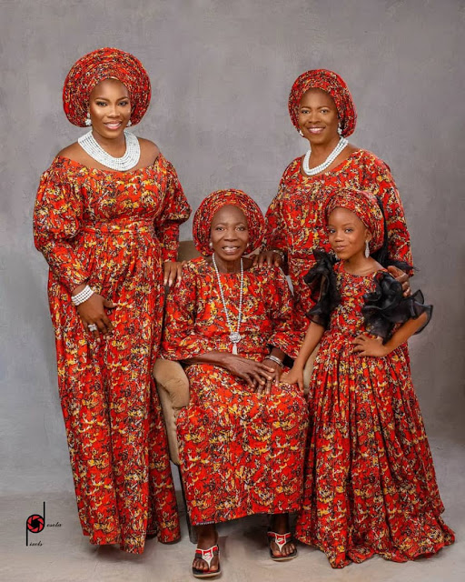 Check out the Photos of Nigerian Family which got people talking