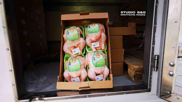 Ξεκίνησε η διανομή δωρεάν τροφίμων από το Δήμο Ναυπλιέων σε ευπαθείς ομάδες (βίντεο)