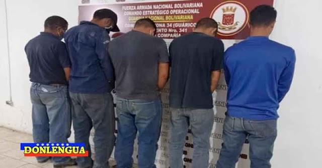 5 Criminales detenidos por envenenar a 12 perros en una agropecuaria