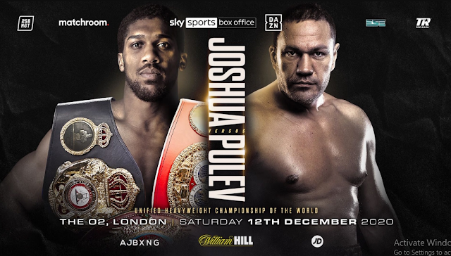 Anthony Joshua vs Kubrat Pulev boxing Live