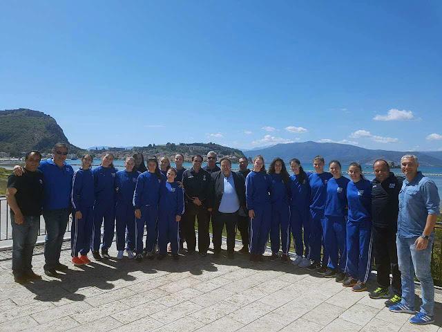 Συνάντηση Χειβιδόπουλου με την Εθνική Ομάδα Παγκορασίδων Volley
