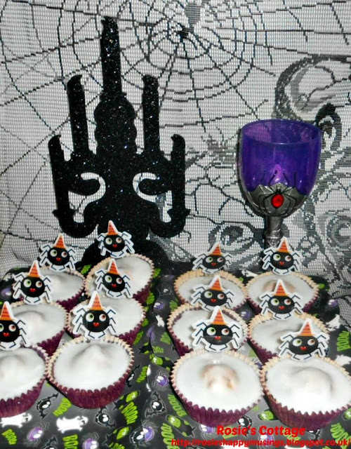 Baking fun for Halloween and a free frighteningly fun fairy cake recipe printable.
