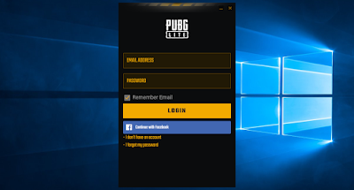 log in to pubg account
