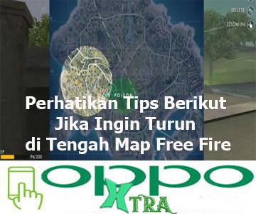 Perhatikan Tips Berikut Jika Ingin Turun di Tengah Map Free Fire