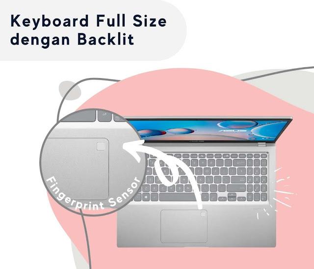 Keyboard dengan Backlit