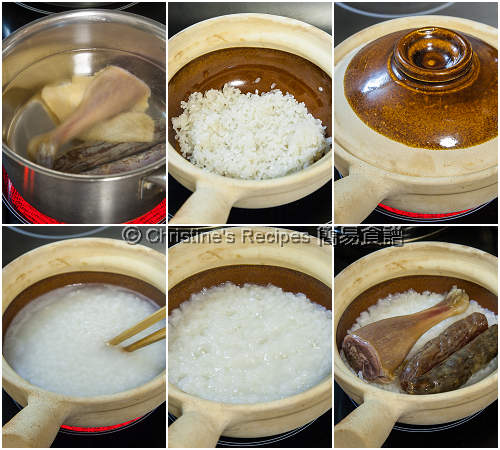 如何做臘味煲仔飯 How To Make Ckaypot Rice with Lap Chang