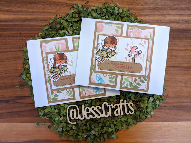 One Sheet Wonder Cards by Jess Crafts featuring Scrapping for Less and Avery Elle