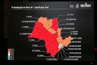 Governo do Estado atualiza Plano SP com extensão de quarentena até 14 de julho