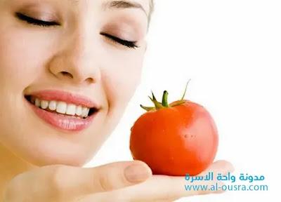 فوائد الطماطم للبشرة