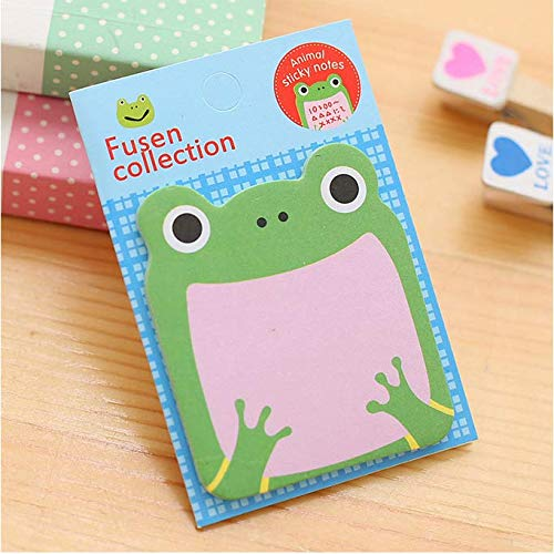 frog with mouth open sticky notes