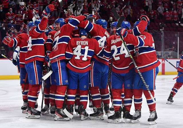 CANADIANS OF MONTREAL: NO QUESTION OF LOSING ON A PUNISHMENT FROM OUR CAPTAIN