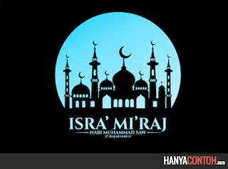 Peristiwa Isra Mi'raj Nabi Muhammad SAW