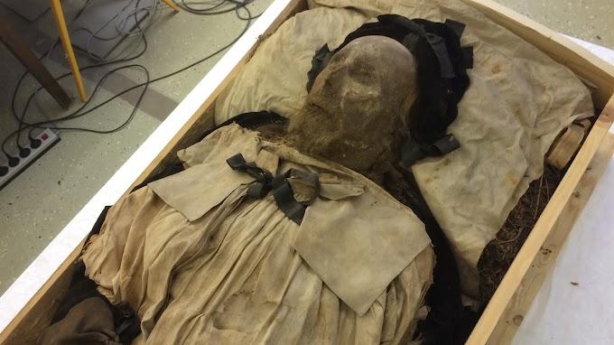 Загадка мумии Лундского епископа и найденного в его гробу мертворождённого ребенка