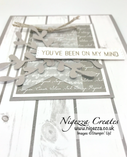 Nigezza Creates with Stampin Up layered card