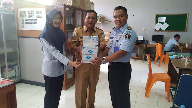 Penerimaan Bantuan Masker dari Dinas Kesehatan Kabupaten Sarolangun