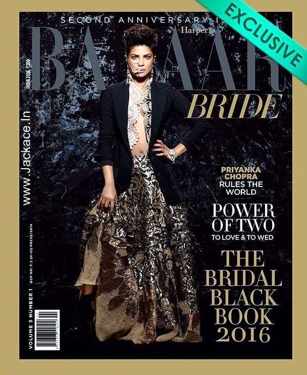 Stunning Priyanka Chopra Looks Ravishing On The Latest Issue Of Harpers Bazaar Bride!