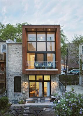 Gambar Desain Rumah Minimalis 2 Lantai Atas Kayu